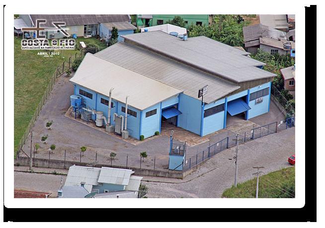 Sede da Metalúrgica Costa e Fio em Caxias do Sul, RS