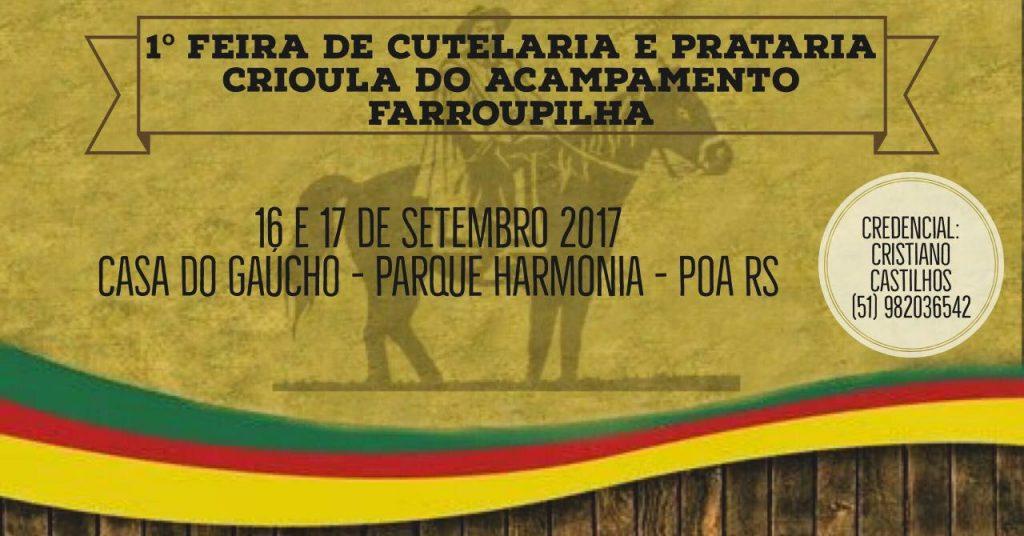 Banner da Feira de Cutelaria Crioula