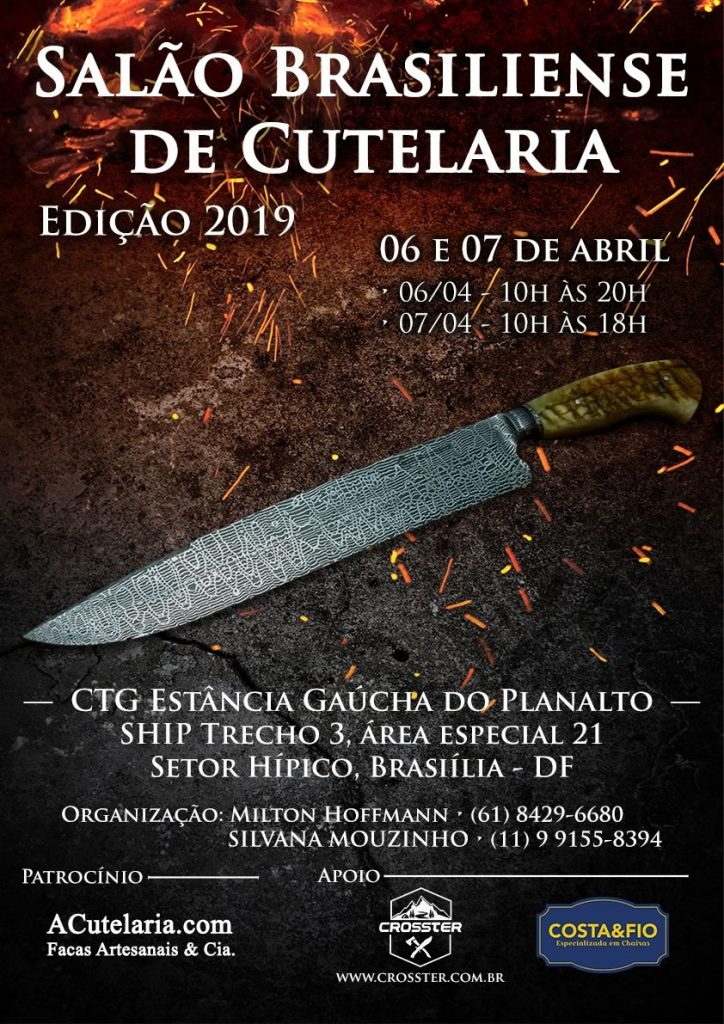 Costa e Fio apoia Salão Brasiliense de Cutelaria 2019
