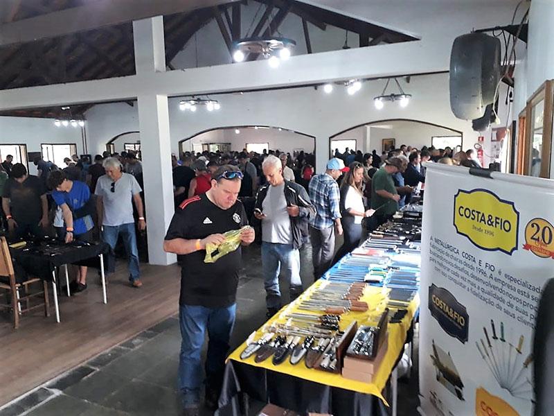 Fotos da participação da Costa e Fio no Salão Brasiliense de Cutelaria 2019