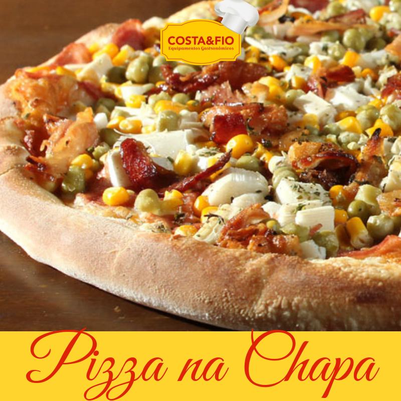Costa e Fio Pizza na Chapa